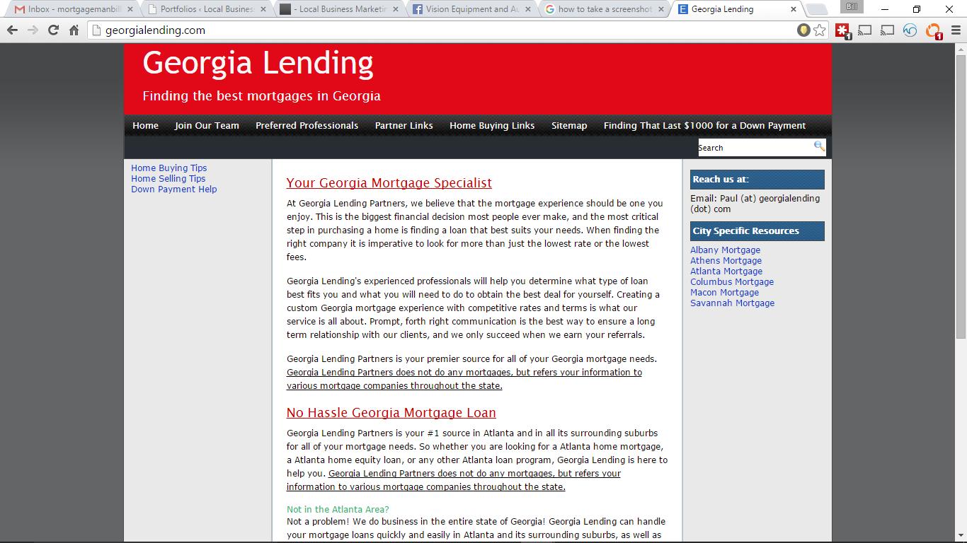 Georgia Lending